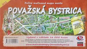 MAPA mesta Považská Bystrica II. Vydanie