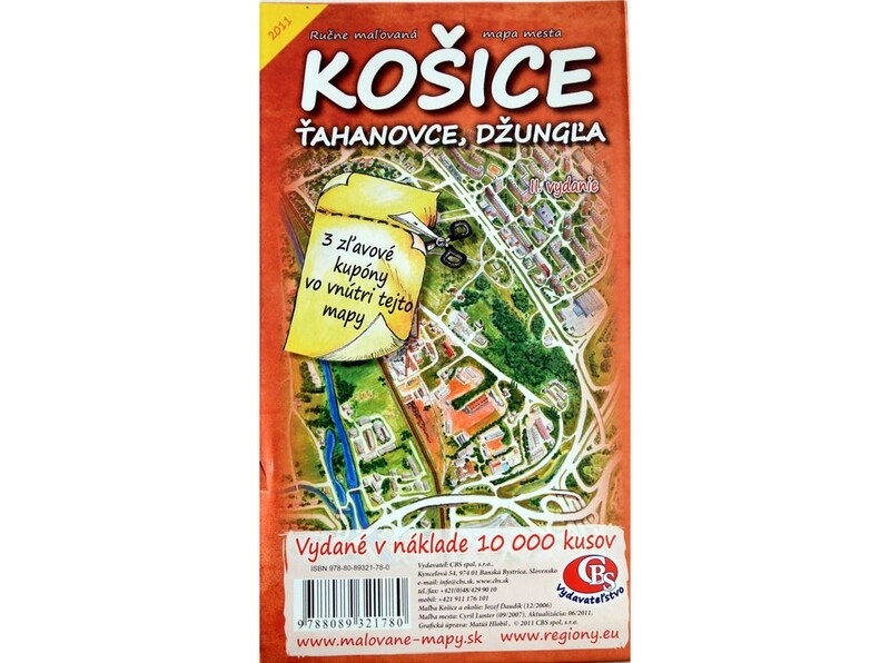 MAPA Košice - Ťahanovce, Ďžungľa II.vydanie