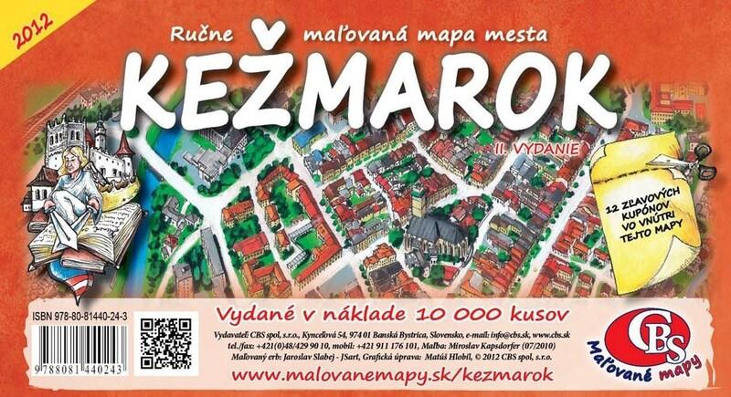 MAPA Kežmarok II.vydanie
