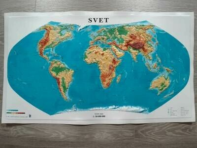 Reliéfna mapa sveta