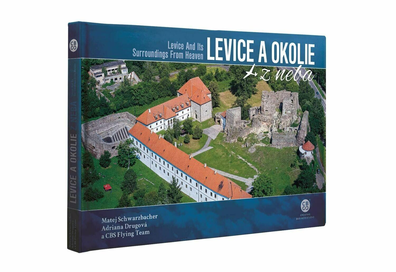 Kniha - Levice a okolie z neba