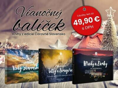 Vianočný set Čarovné Slovensko