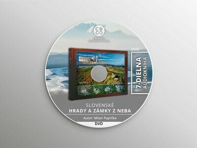 DVD - Audiokniha - Slovenské hrady a zámky z neba