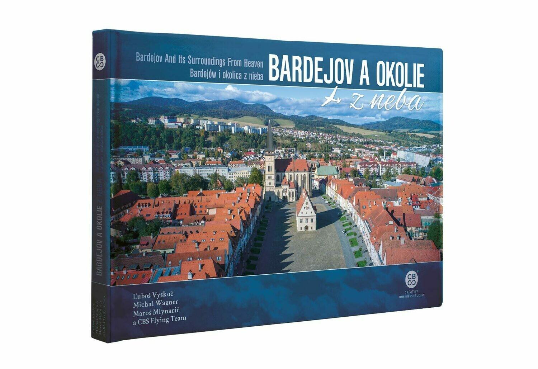 Kniha - Bardejov a okolie z neba