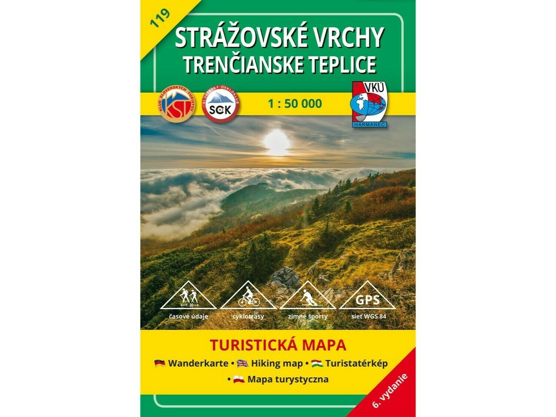 2 mapy za cenu 1 - TM 104 Čergov a TM 119 Strážovské vrchy