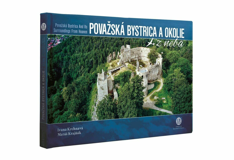 Považská Bystrica a okolie z neba