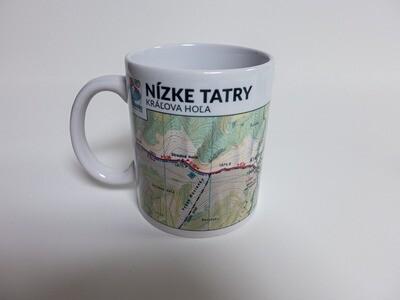 Keramický hrnček - Nízke Tatry - Kráľova hoľa