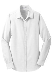 Port Authority® Ladies SuperPro™ Oxford Shirt. L658