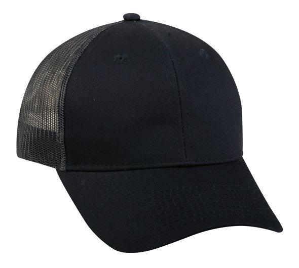 GL-270M Structured Cotton Twill Mesh Back Cap