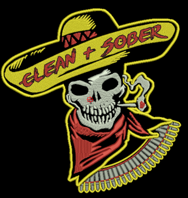 Sinners to Saints Center Patch