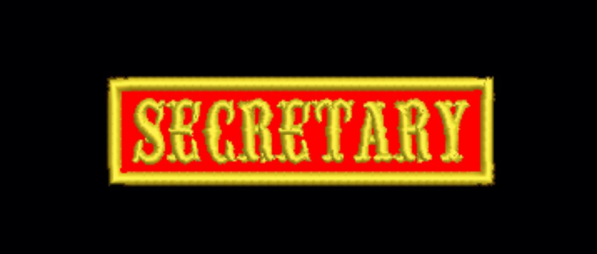 Secretary Officer Tab
