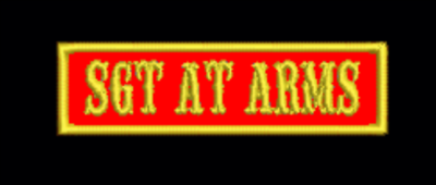 Sergeant at Arms Officer Tab