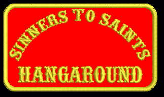 Sinners to Saints Hangaround Patch