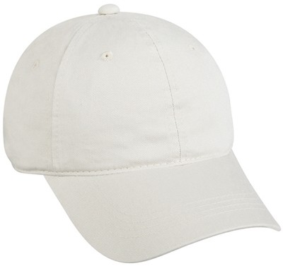 Garment Washed Twill Cap with Logo