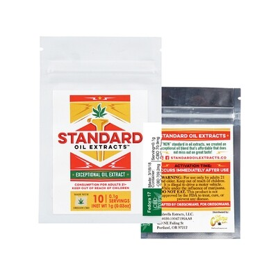 WS Standard Oil Extracts Standard Oil