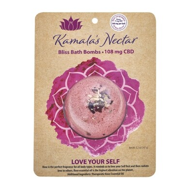 WS Kamala's Nectar Bliss Bath Bombs