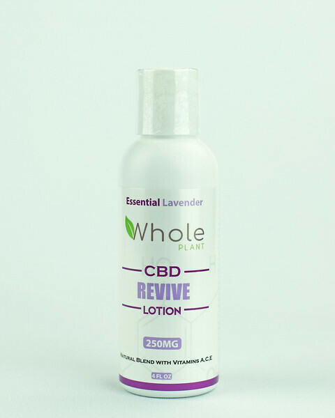 Whole Plant Store - Essential Lavender Lotion 250mg