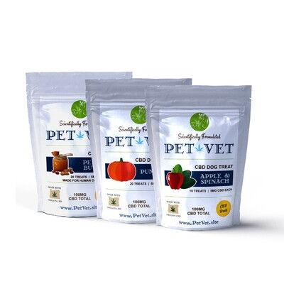 WS Pet Vet CBD Dog Treats