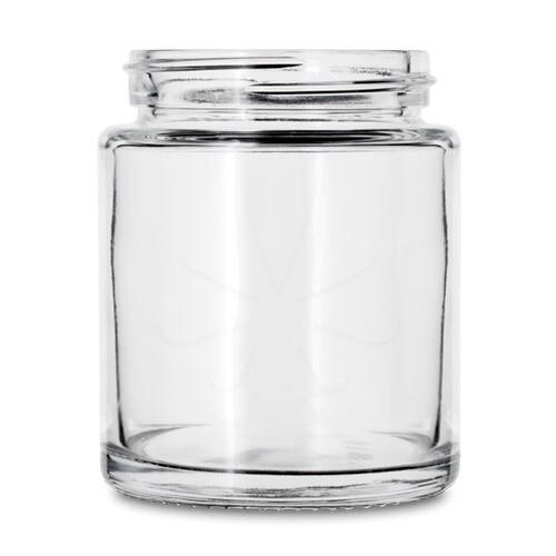 40 Dram Straight Sided Glass Jar