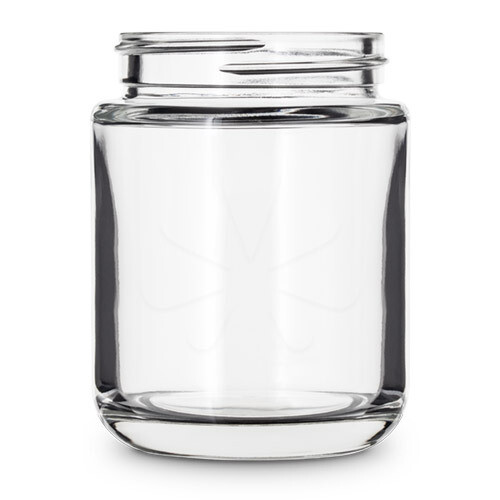 40 Dram Round Base Glass Jar