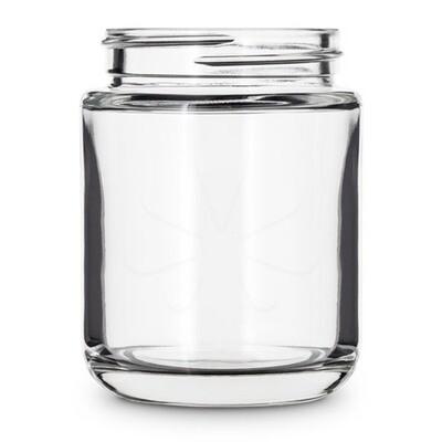 40 Dram Round Base Glass Jar