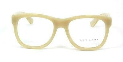 NEW RALPH LAUREN RL 6143 EYEGLASSES AUTHENTIC 56-19-140 in Bone Beige LAST ONE