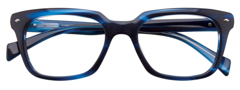 PARADOX COLLECTION Eyeglasses P5011- Blue Marbled 51-18-140 Includes case Men's
