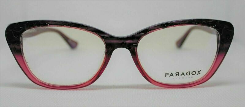PARADOX COLLECTION Eyeglasses P5000 in Gradient Pink Size: 53 - 18 ¬ 140