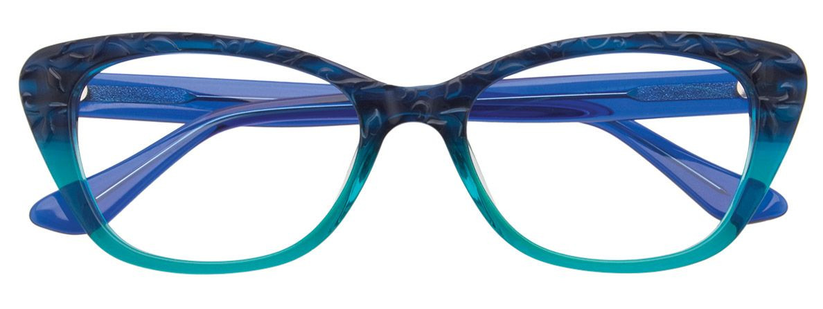 PARADOX COLLECTION Eyeglasses P5000 in 050 - Teal Gradient 53-18-140