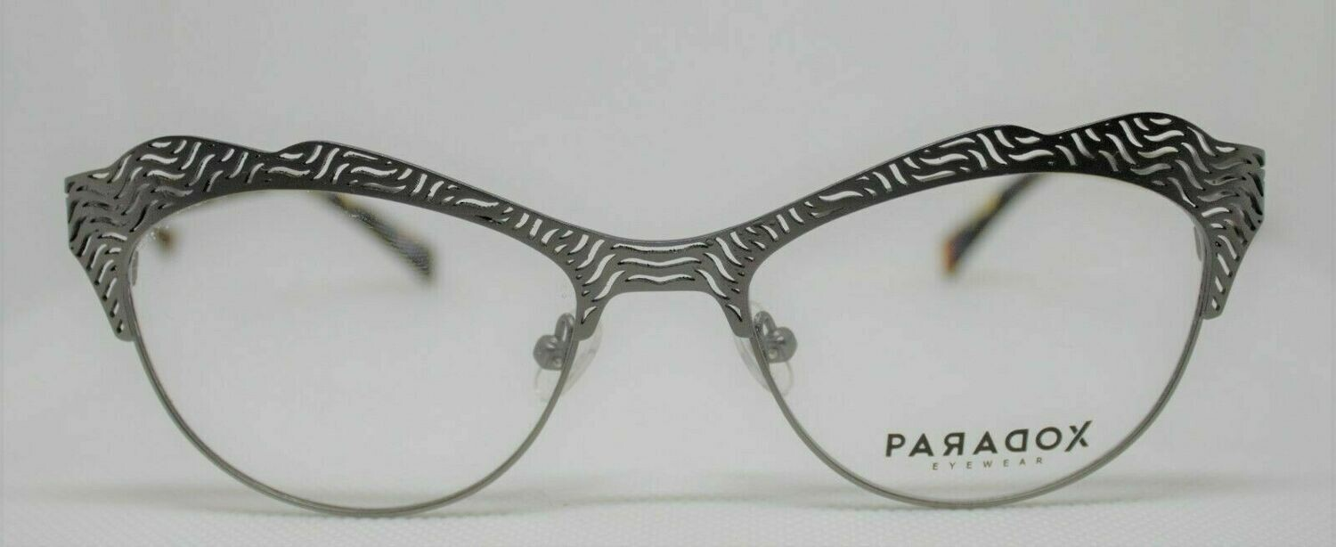 PARADOX COLLECTION Eyeglasses P5016 51-17-135 20 Satin Steel LAST ONE!