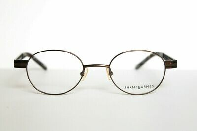 Jhane Barnes Roundabout Rx Eyeglasses New in Brown 48-20-140 RARE last one