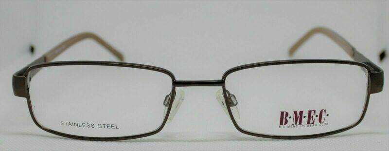 BIG MEN EYEWEAR CLUB Stainless steel Frank Prescription Eye Glasses frames 58-20