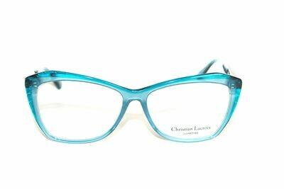 Christian Lacroix Eyeglasses CL1077 Bleu New Authentic 55mm Case Included
