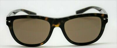 NEW VALENTINO VA 4019 5002/73 TORTOISE / BROWN LENS AUTHENTIC SUNGLASSES 53-17