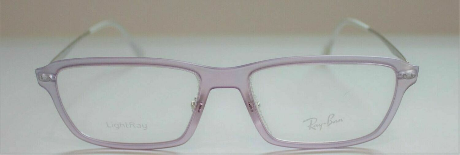 New RAY BAN RB LightRay RB7038 Color Lt. Lavender 5452 Made in Italy lightweight