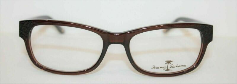 New Tommy Bahama TB5030 Eyeglass frames New Authentic 54-17-135 Brown