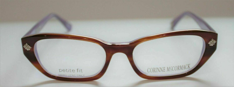Corinne McCormack Petite fit eyeglass frames HM Astor in Lavender 49-16-135