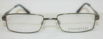 Gargoyles eyeglass frames Starter in Gun New with case 53-18-140