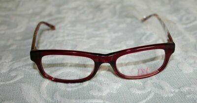 Diane von Furstenberg DVF 5002 Eyewear Eyeglass Frames Womens NEW Red Oro