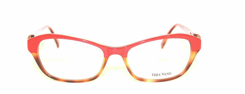 VERA WANG Eyeglasses V338 Coral Tortoise 51MM