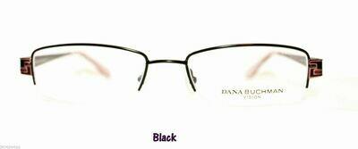 New DANA BUCHMAN BARBEAU EYEGLASS FRAMES in Black