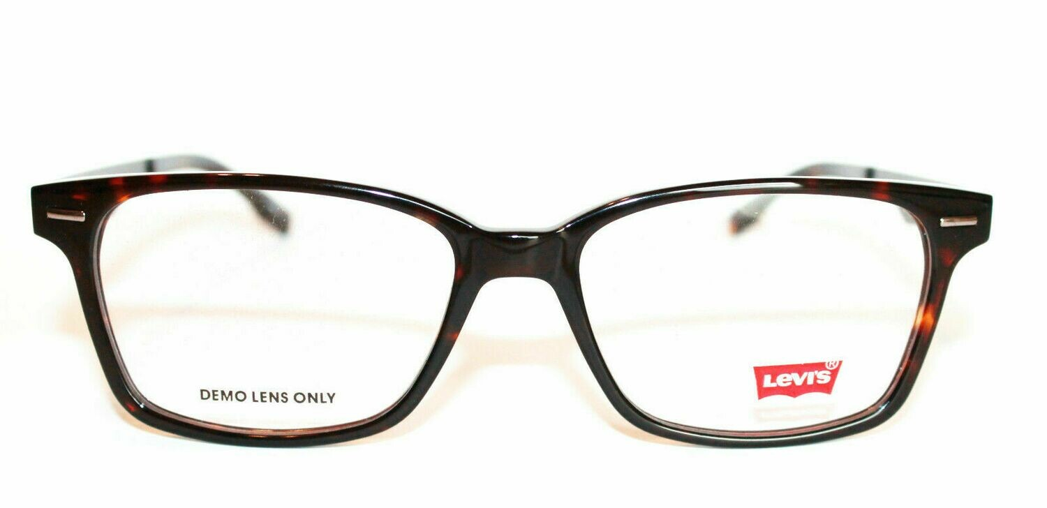 Authentic and New Levi's LS117 eyeglass frame Tortoise Levi's Case included 53