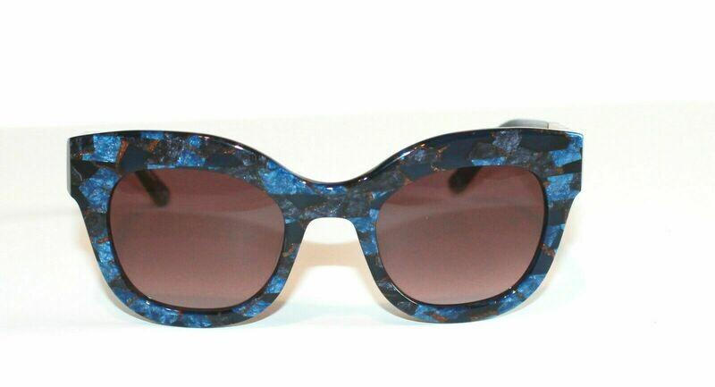 L.A.M.B. LA536 Sunglasses Gwen Stefani's line of fine eyewear! BLUE, Case Includ