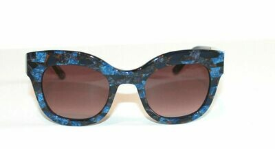 L.A.M.B. LA536 Sunglasses Gwen Stefani's line of fine eyewear! BLUE, Case Includ