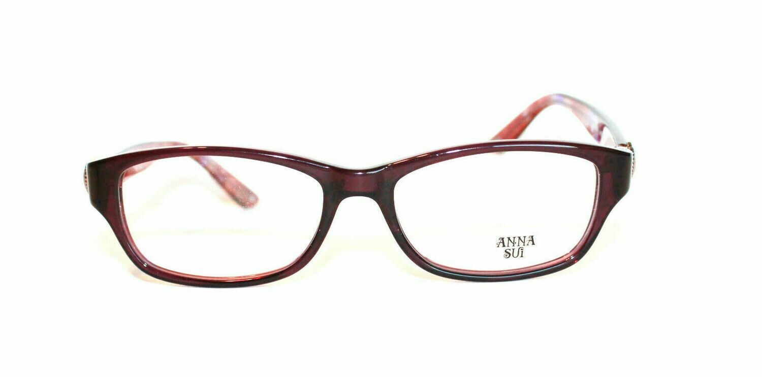 Anna Sui AS 535 in Purple Glasses Eyewear New and Authentic RX-able