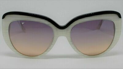 L.A.M.B. LA530 Gwen Stefani's Designer Sunglasses color: Bone Case Included