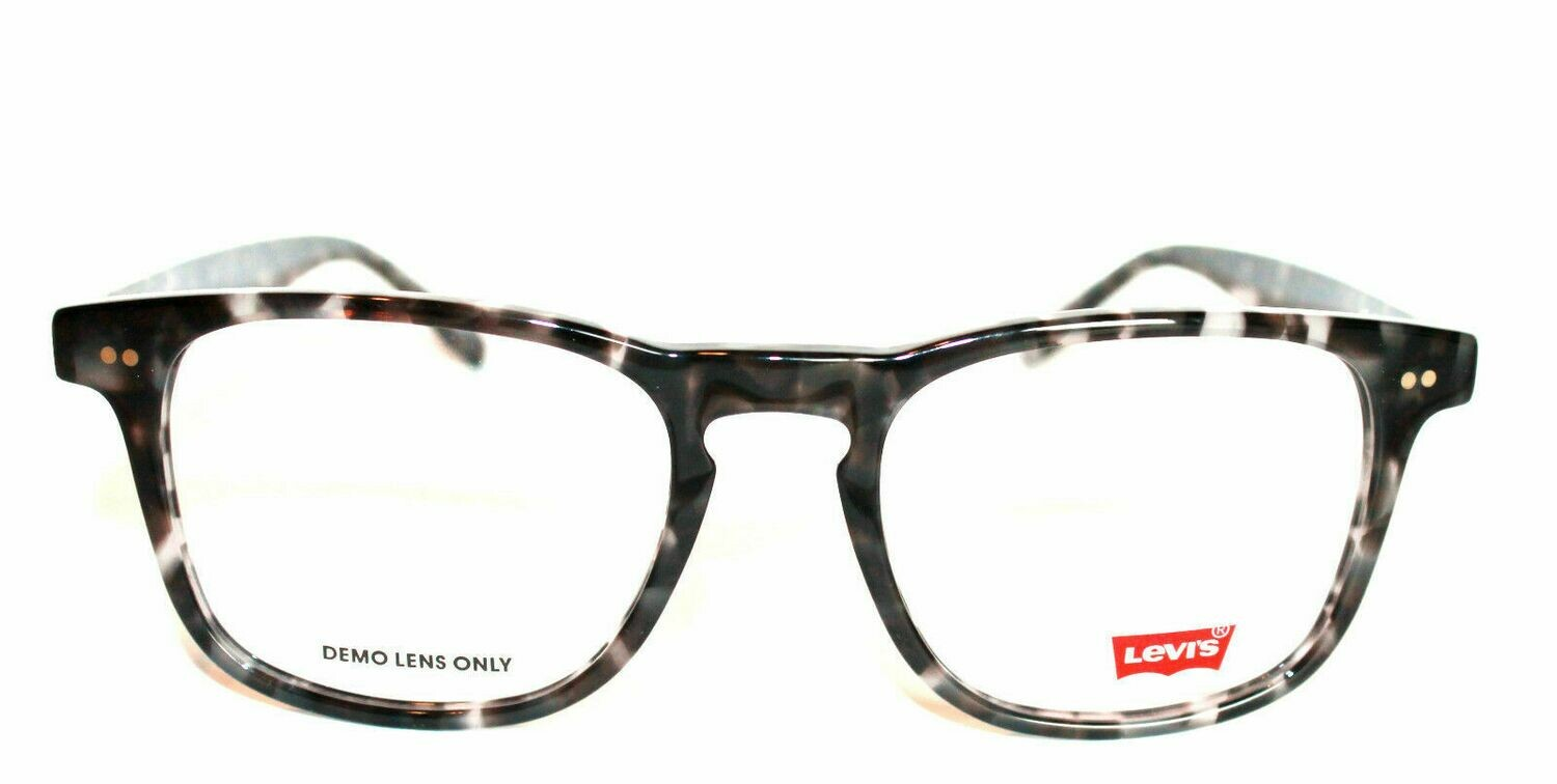 Authentic and New Levi's LS123 eyeglass frame Grey Tortoise Levi's Case included