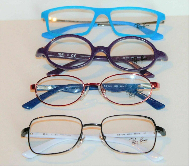 4 Pair NEW Ray Ban Jr. Eyeglass frames RB 1036, 1545, 1541, 1028