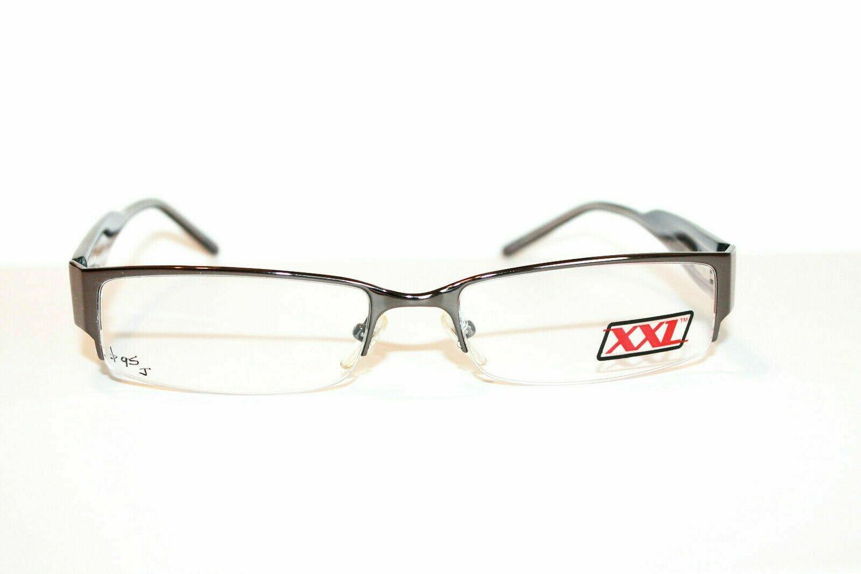 New XXL Heat Semi-Rimless eyeglassesGun 57-18-150 By A&A Optical LAST ONE
