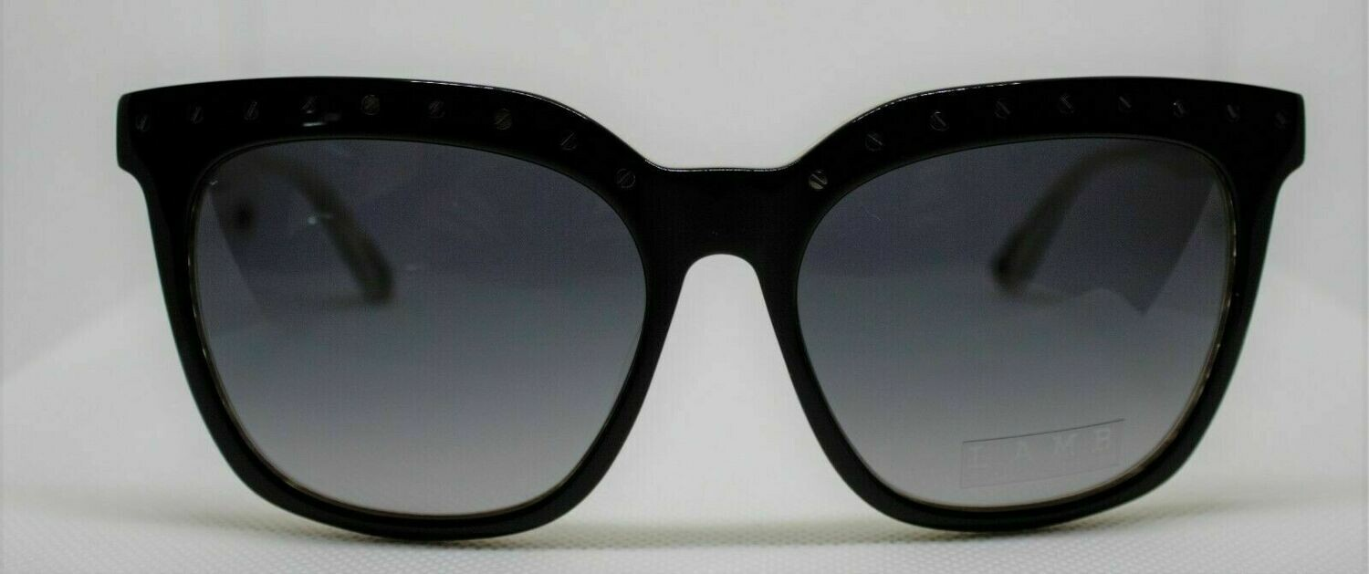 L.A.M.B. LA511 Sunglasses Gwen Stefani's Designer Sunglasses BLACK Case & Cloth